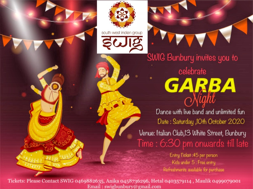 Garba Night – 10th Oct